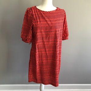 Francesca's Short Sleeved Shift Dress